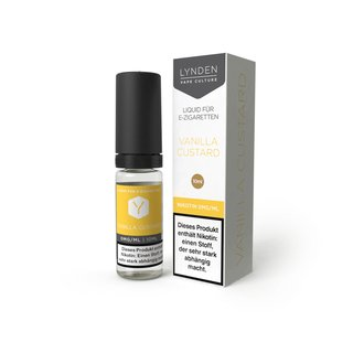 Lynden Liquid Vanilla Custard 06 mg/ml