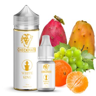Dampflion Checkmate Aroma 10 ml White King