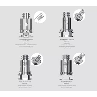 Smok Nord (Coil/Head) Mesh 0,6 Ohm