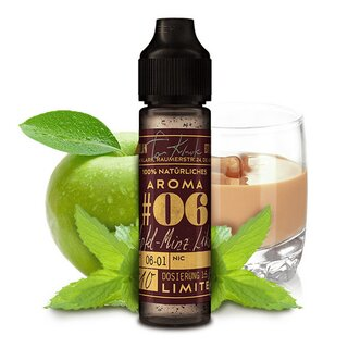 Tom Klark´s Aroma 10 ml Winter Edition #6 Apfel-Minz Likör